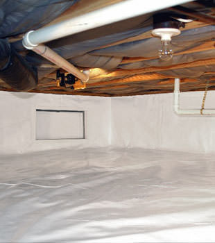 A complete crawl space repair system in Salinas