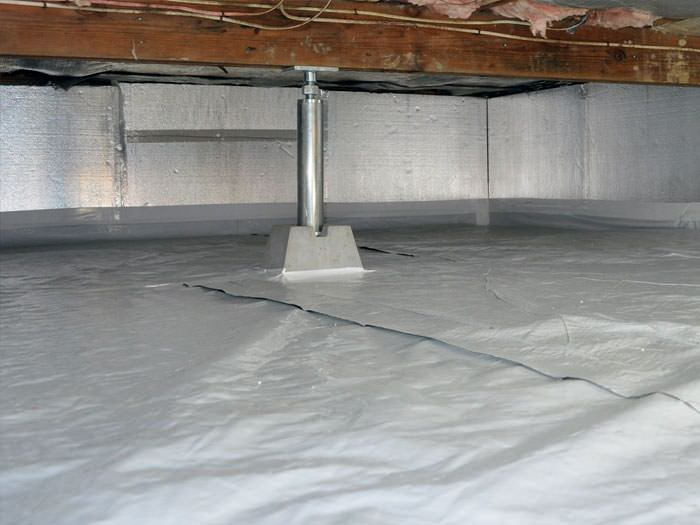 A Sealed Encapsulated Crawl E With Structural Repairs Present In Daly City