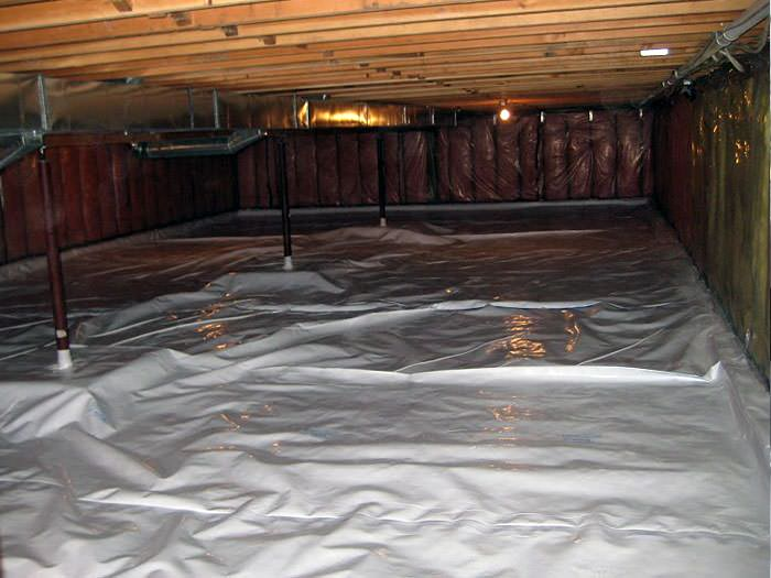 we clean crawl spaces in california crawl space cleanup