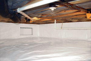 Crawl Space Repair After in Fremont