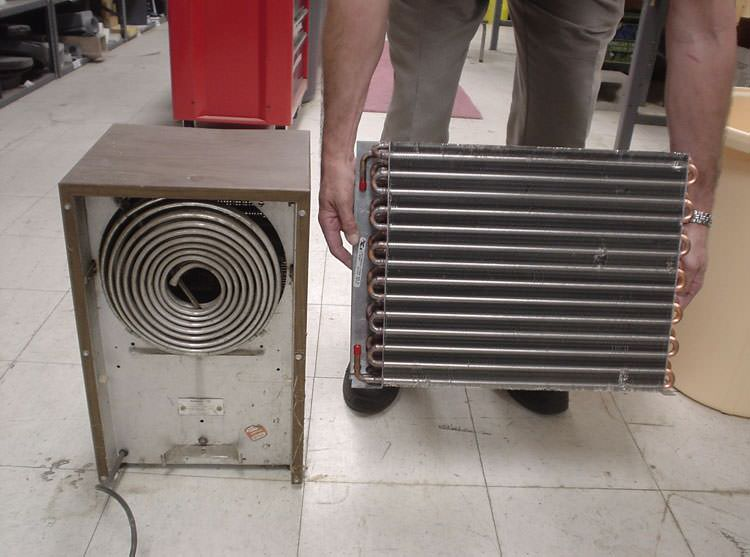 A crawl space cold coil comparison. Crawl Space Dehumidifier in Bay Area  CA   Energy Efficient