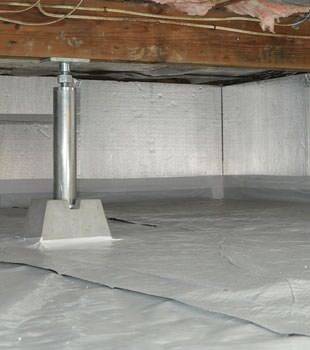 Installed crawl space insulation in Daly City