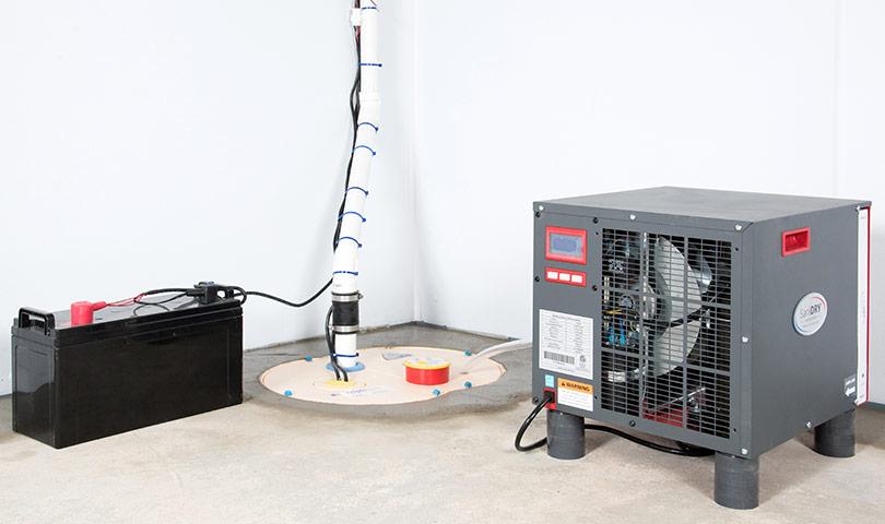 A sump pump installed in Fairfield by Clean CrawlSpace Inc. Bay Area Sump Pump Systems  Sump Pump Installation in San Jose